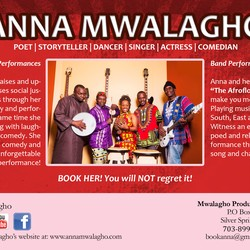 Anna Mwalagho & Afrofloetry Band