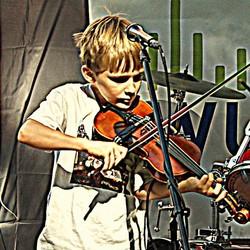 Fiddlin' Quinn and His Big Folks Band