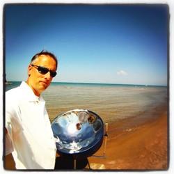 Kent Arnsbarger Steel drum artist