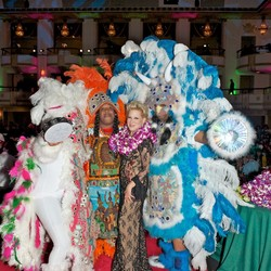 Mardi Gras Indian Show