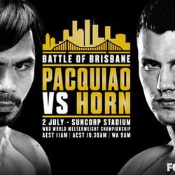 Pacquiao vs Horn Live Stream Online