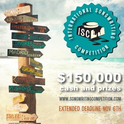 CONTEST: International Songwriting Competition 2018 - Unpublished