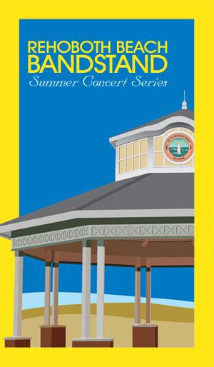 Rehoboth Beach Bandstand, Summer Concert Series 2014