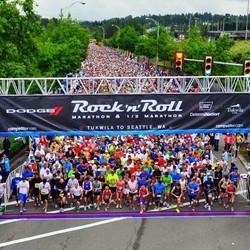 Rock 'n' Roll Seattle Marathon & 1/2 Marathon 2014
