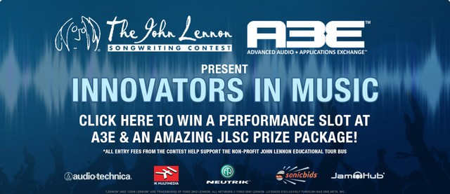 PLAY: John Lennon Songwriting Contest Presents Live @ A3E Conference