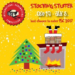 CONTEST: International Songwriting Competition 2017 (Unsigned Only) - Stocking Stuffer Promo