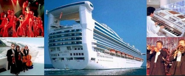 HIRED: Perform on Cruise Ships
