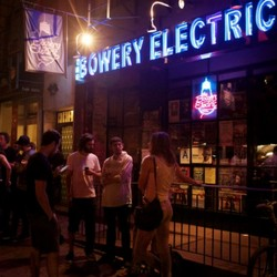 PLAY: Bowery Electric Map Room - NYC (Winter)