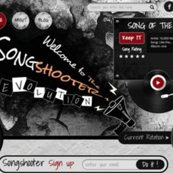 CONTENT: Artist Feature on Songshooter's Song of the Day (Winter)