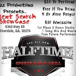 PLAY: Halftime Sports Bar and Grill (Georgia) (Winter/Spring)