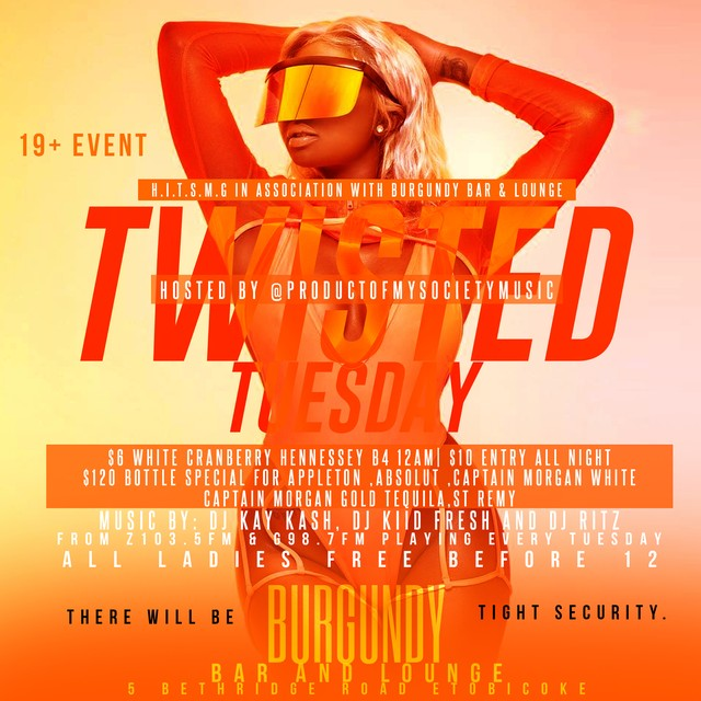 PLAY: Twisted Tuesdays (Toronto) - Summer