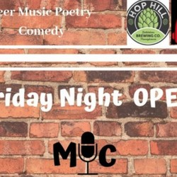 PLAY: Friday Night Open Mic (PA) Summer/Fall