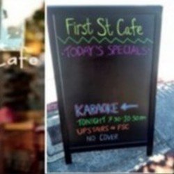 PLAY: First St. Cafe - CA (Summer/Fall)