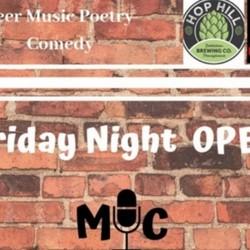 PLAY: Friday Night Open Mic (PA)
