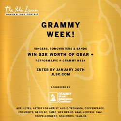CONTEST: John Lennon Songwriting Contest x Grammy Week