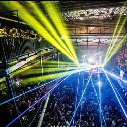 City Hall night club concert venue arcade