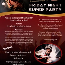 PLAY: Y108 FM and Stonewalls Presents The Friday Night Super Party