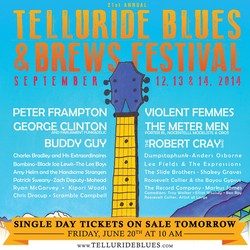 CONTEST: 2014 Telluride Blues Challenge