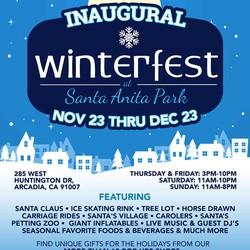 PLAY: Winterfest at Santa Anita Park (CA)