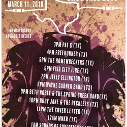 PLAY: Mag Mile Showcase in March in Austin (TX)