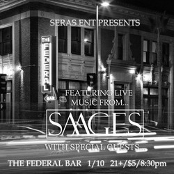 PLAY: Open for Seras and SAAGES at The Federal Bar (CA)